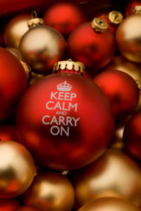Keep calm at Christmas
