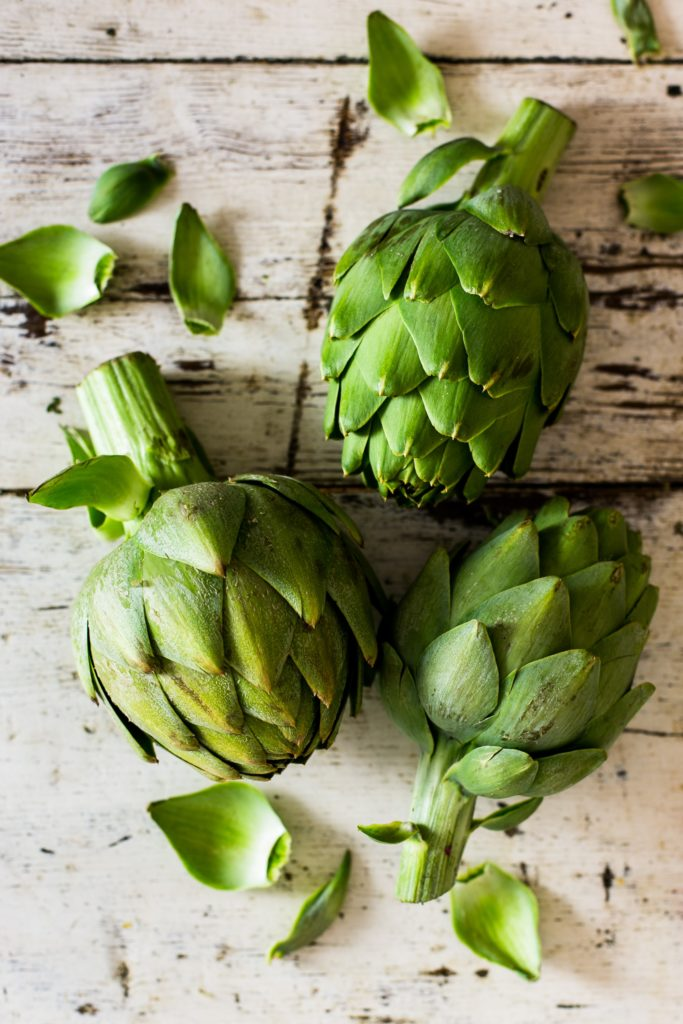 Globe Artichokes Are In Season – Try This Recipe